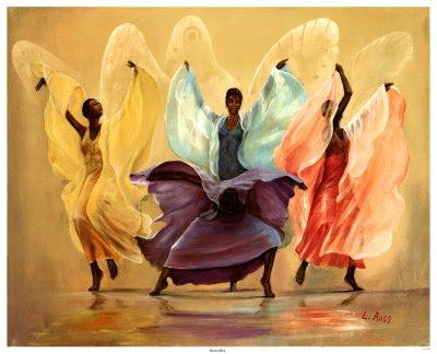 Symbole de liberté acquise en danse-thérapie.