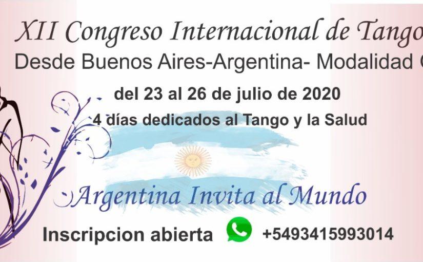 12ème Congrès International de Tango Thérapie